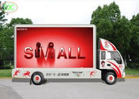 P10 led mobile digital advertising sign trailer , Outdoor Mobile Truck LED Display Full Color screen