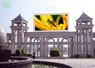 양질 rgb led 디스플레이 & 10mm 화소 피치를 광고하는 1/4의 검사 경기장 옥외 풀 컬러 발광 다이오드 표시를 담그십시오 판매