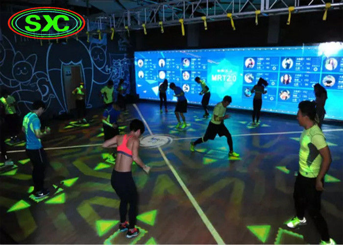 High Class P8.928 LED Dance Floor Waterproof / Dance Floor Tile Screen Rent , 5000 Cd/Sqm led dance floor panels