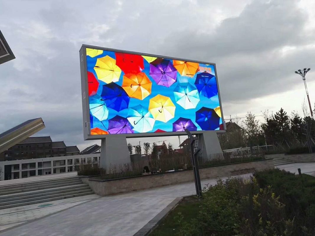P6 LED Information Display HD 3D Image Lightweight LED Panel Multi Installation Way