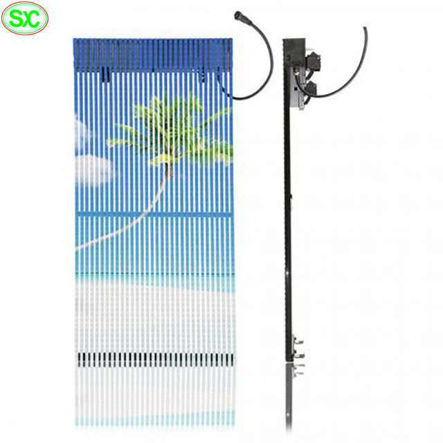 Super Thin 3cm Flexible Curtain LED Display Backdrop Outdoor P15 6500K-9500K